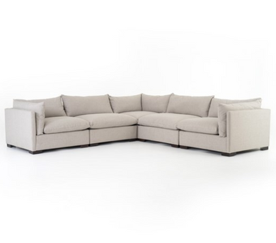 Westwood Moon 5 Piece Sectional
