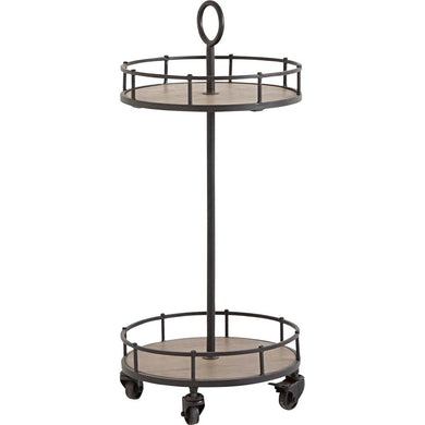 Two Tier Rolling Cart, Home Furnishings, Laura of Pembroke