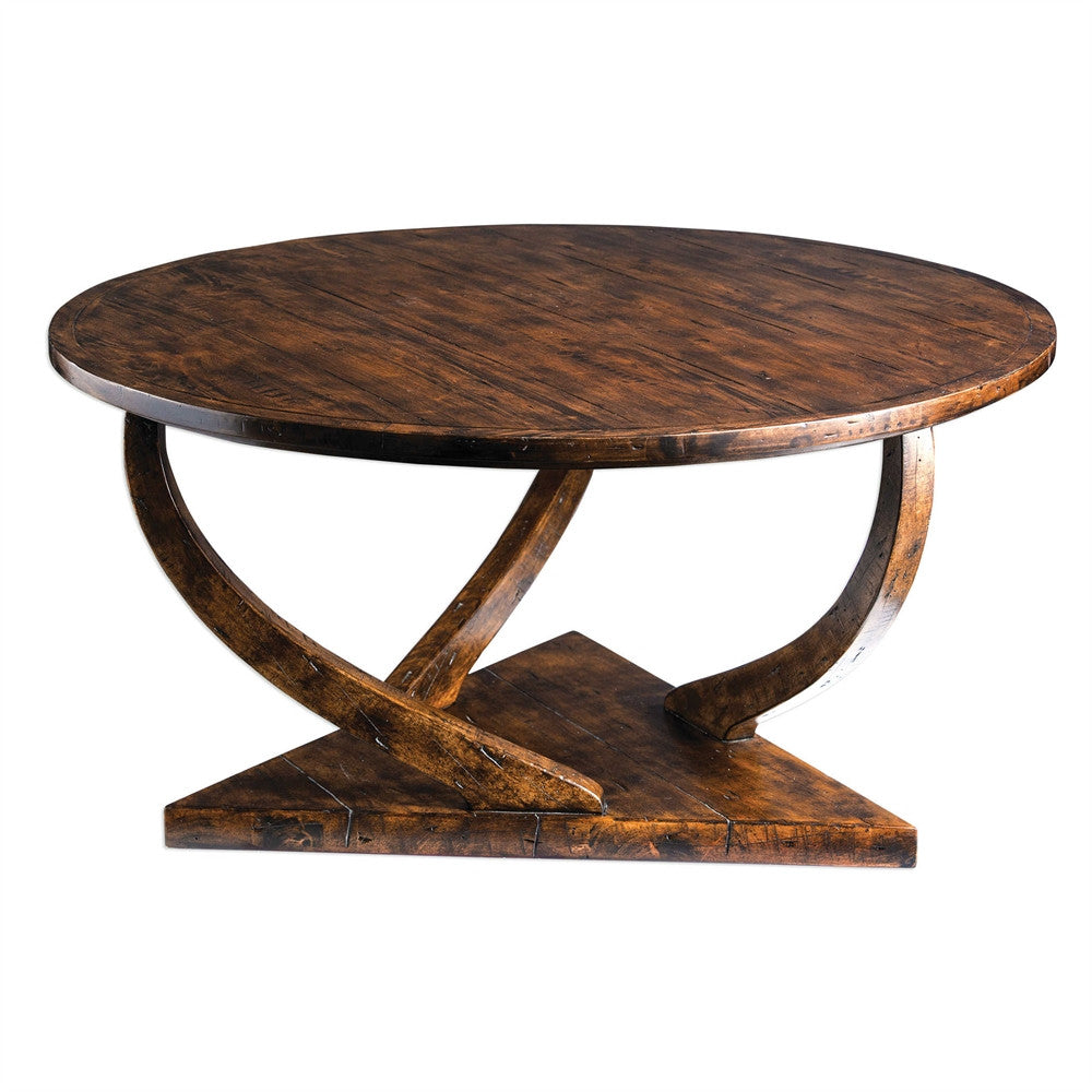 Wood Coffee Table, Home Furnishings, Laura of Pembroke