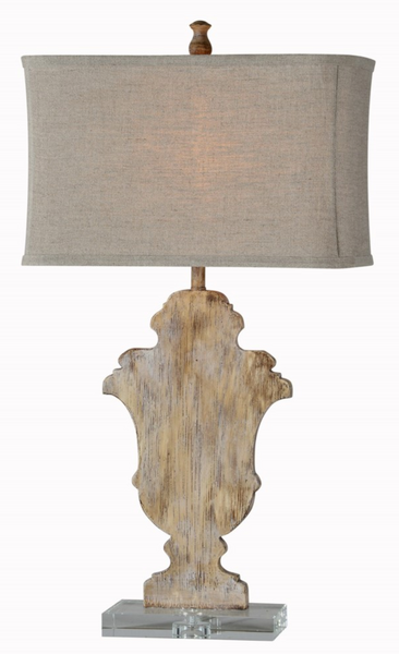 Wood and Acrylic Table Lamp, Sale, Laura of Pembroke