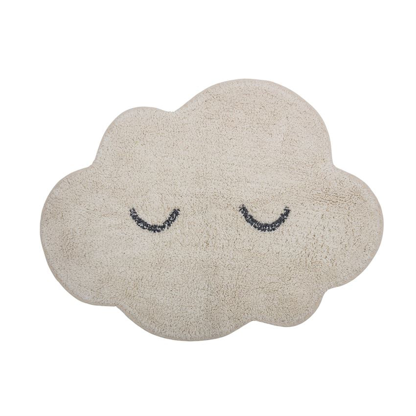 Cotton Cloud Shaped Rug