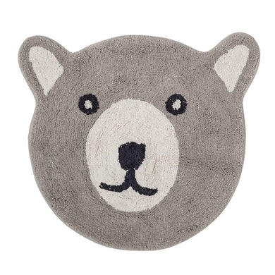 Cotton Bear Rug, Grey, Baby, Laura of Pembroke