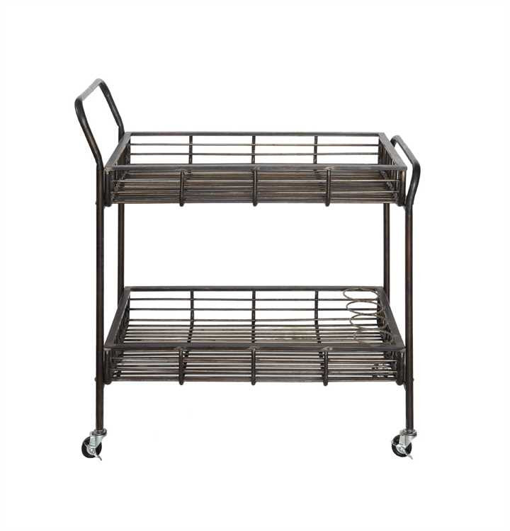 Metal Bar Cart, Home Furnishings, Laura of Pembroke