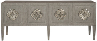 Floral Hardware Console