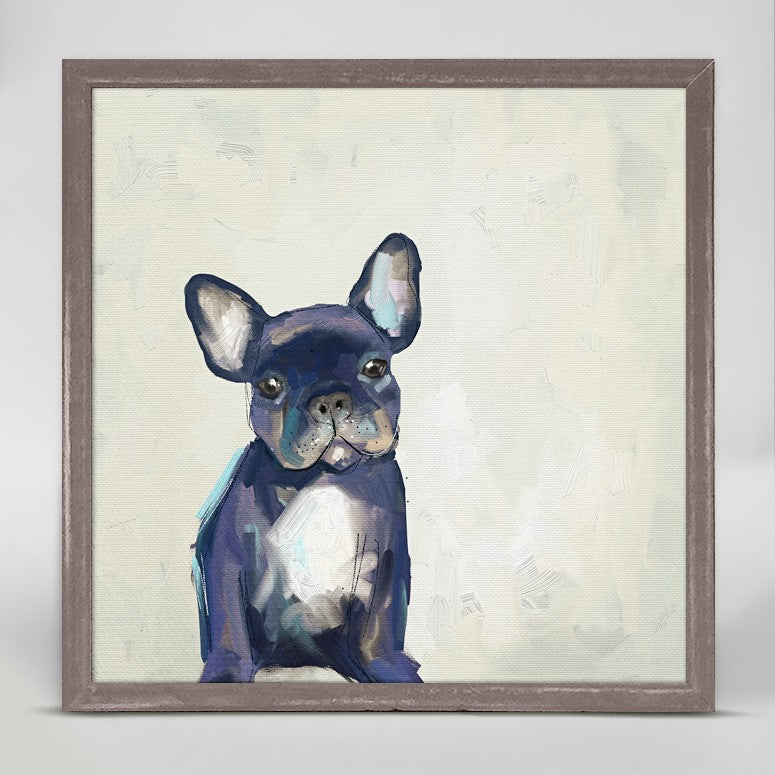 Best Friend- Frenchie Pup Canvas 6x6, Home Accessories, Laura of Pembroke