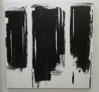 Black and White Blocks Art, Home Accessories, Laura of Pembroke