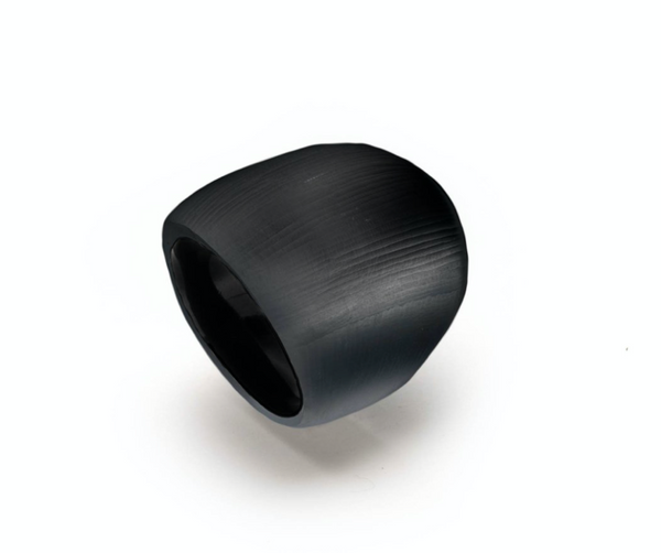 Black Block ring