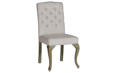 French Leg Tufted Dining Chair, Home Furnishings, Laura of Pembroke
