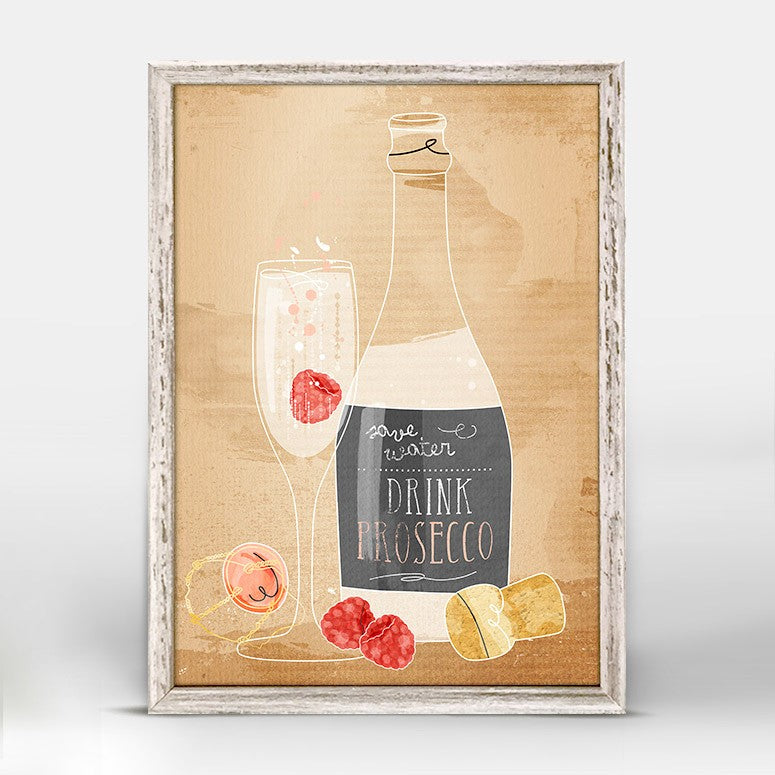 Cocktail Hour Mini Framed Canvas 5X7, Home Accessories, Laura of Pembroke