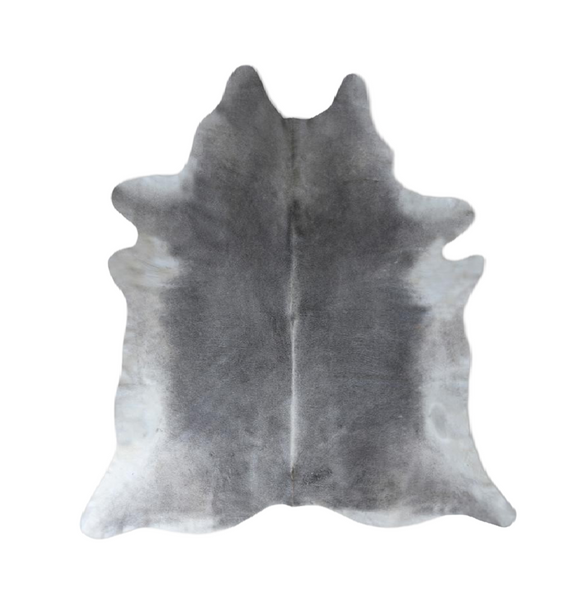 Gray Nelore Premium Brazilian Cowhide, Home Accessories, Laura of Pembroke