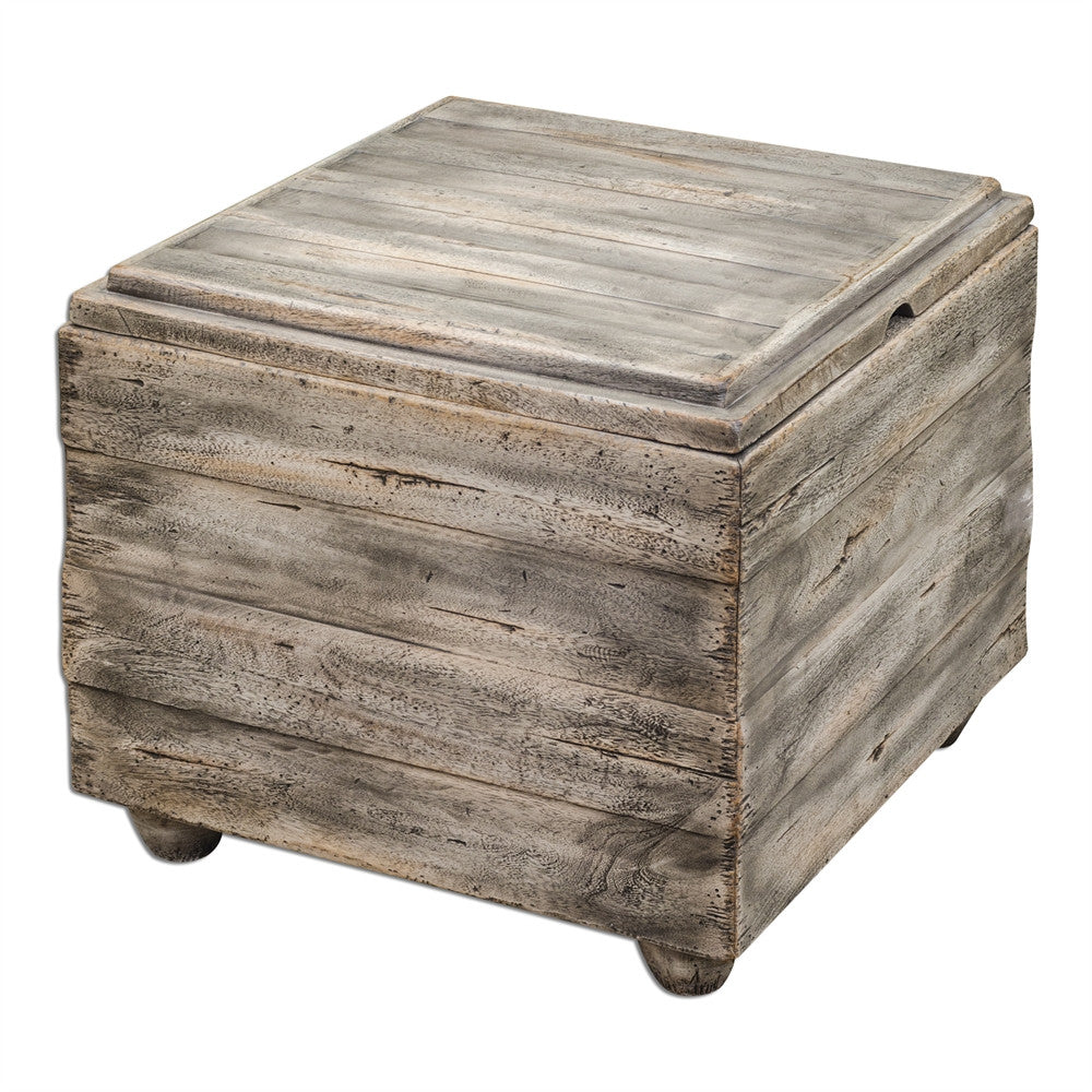 Mango Wood Cube Table, Home Furnishings, Laura of Pembroke