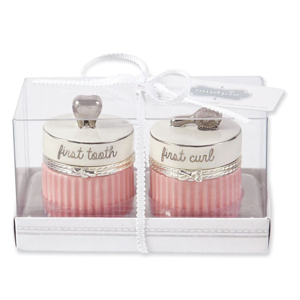 Pink Tooth and Curl Set