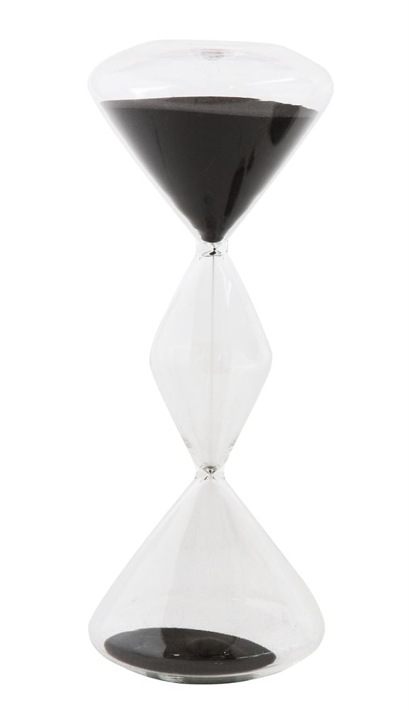 Hourglass with Black Sand, Home Accessories, Laura of Pembroke