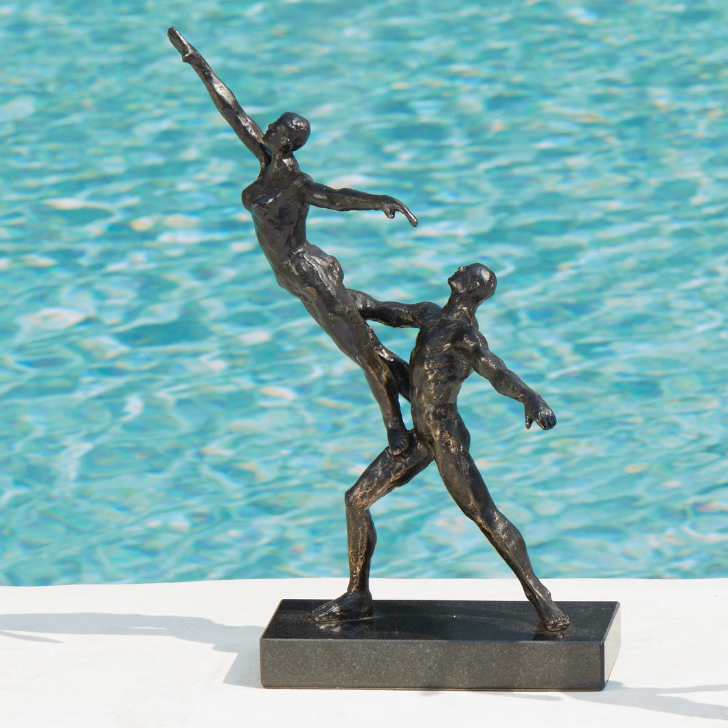 Dancers-Standing Lift Sculpture, Home Accessories, Laura of Pembroke
