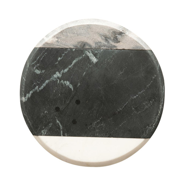 ROUND MARBLE CHEESE/CUTTING BOARD