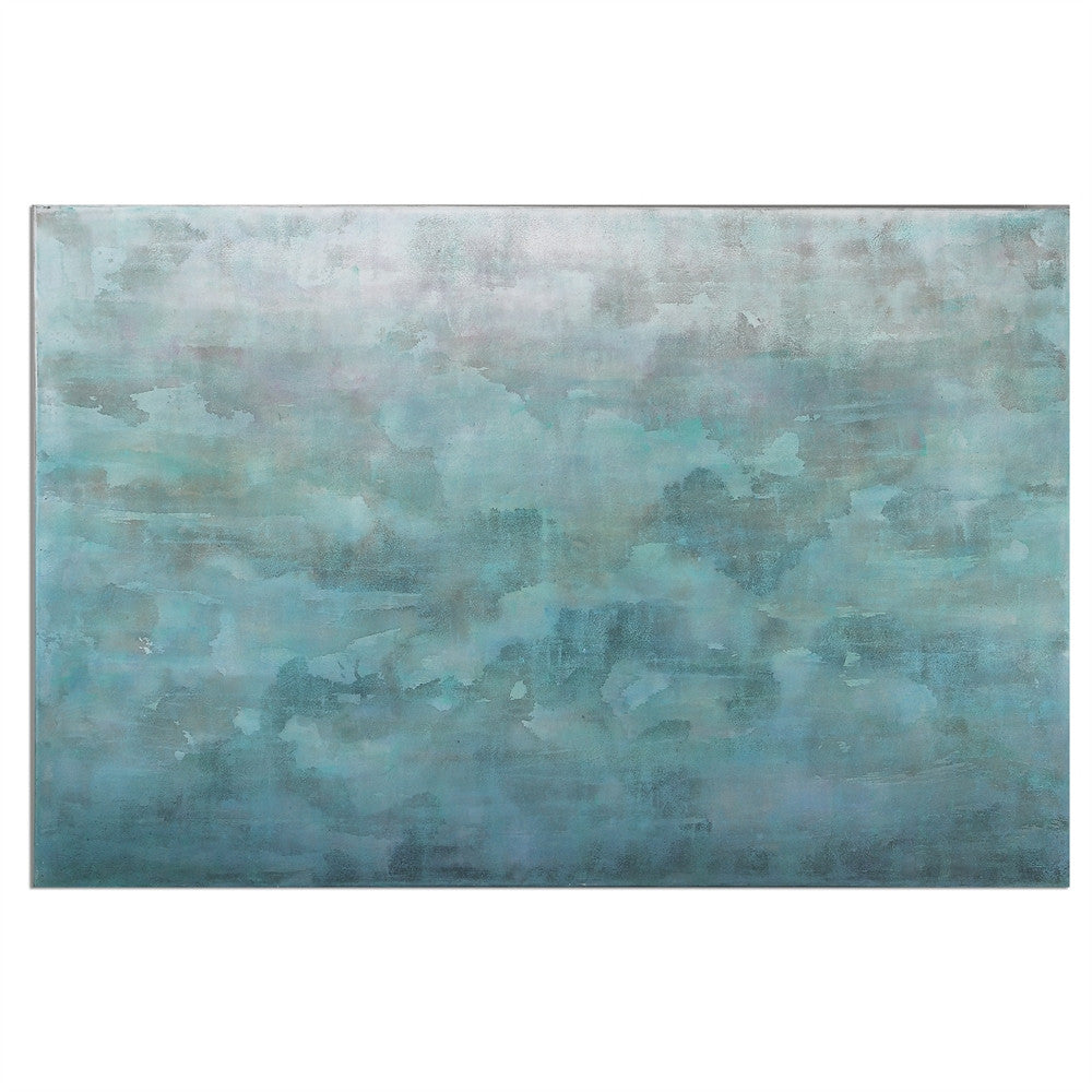 Frosted Landscape Painting, Home Accessories, Laura of Pembroke