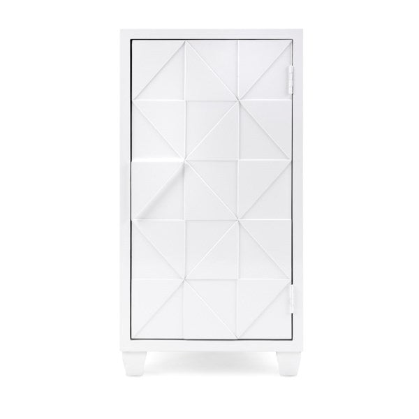 Geometric Patterned Cabinet, Home Furnishings, Laura of Pembroke