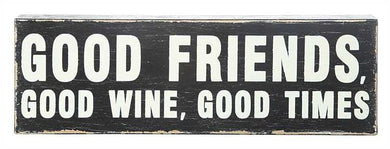 Good Friends Sign, Home Accessories, Laura of Pembroke