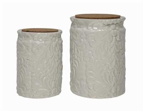 White Canisters, Gifts, Laura of Pembroke