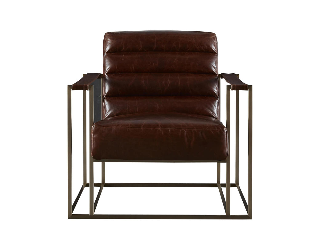 Terrific Brompton Brown Leather Chair Ncnpc Chair Design For Home Ncnpcorg