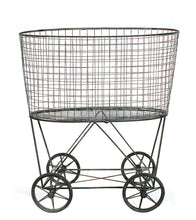 Laundry Basket On Wheels, Home Accessories, Laura of Pembroke