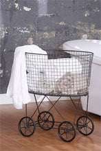 Laundry Basket On Wheels, Home Accessories, Laura of Pembroke 2