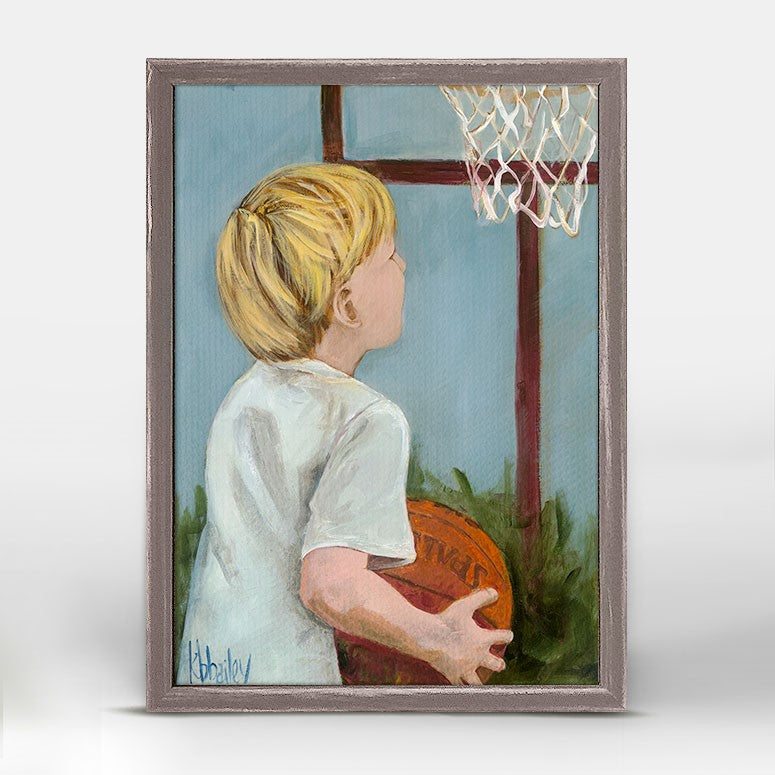 Lil' Basketball Star 2 5x7, Home Accessories, Laura of Pembroke