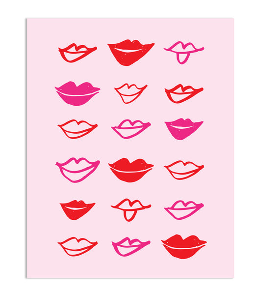 Lips Print, Gifts, Laura of Pembroke