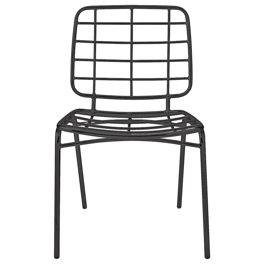 Black Metal Chair, Home Furnishings, Laura of Pembroke