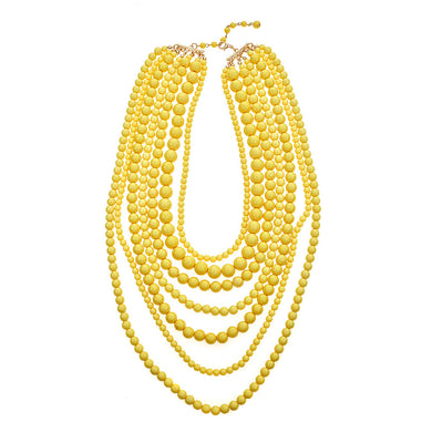 Yellow Long Mimi Necklace