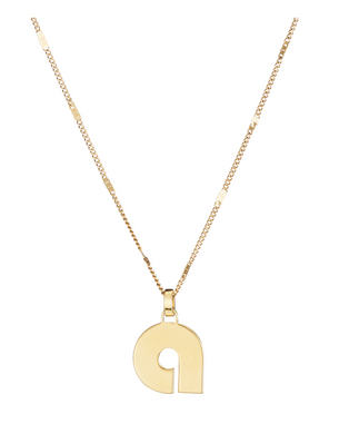 Modernist Monogram Necklace