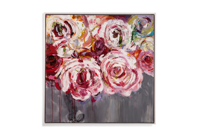 Pink Peonies Canvas, Home Accessories, Laura of Pembroke