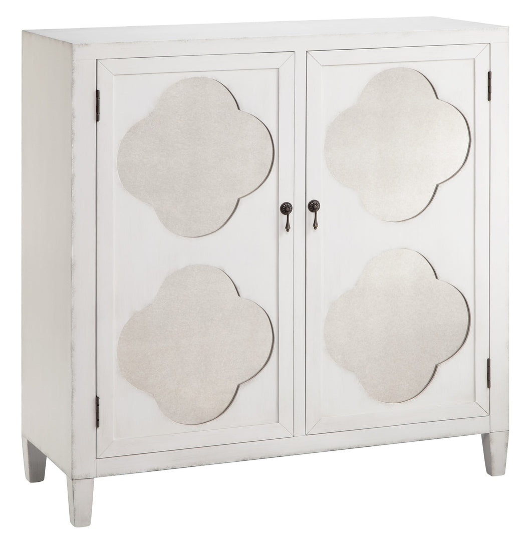 Quatrefoil 2 Door Cabinet, Home Furnishings, Laura of Pembroke