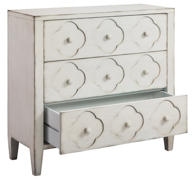 Quatrefoil 3 Drawer Chest, Home Furnishings, Laura of Pembroke