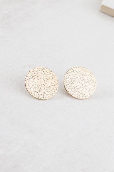 Scale Up Post Earrings