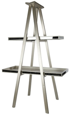 Two Shelf Display Ladder