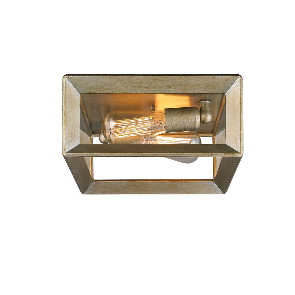 Smyth Flush Mount in White Gold, Lighting, Laura of Pembroke