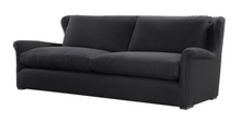 Black Linen Sofa, Home Furnishings, Laura of Pembroke