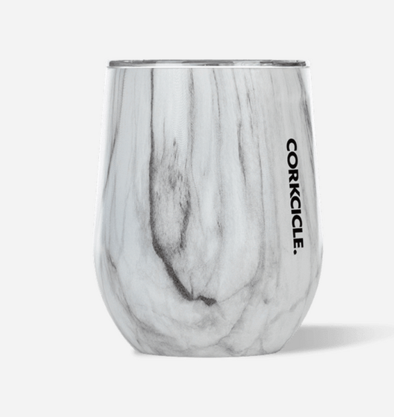 Marble Stemless Wineglass