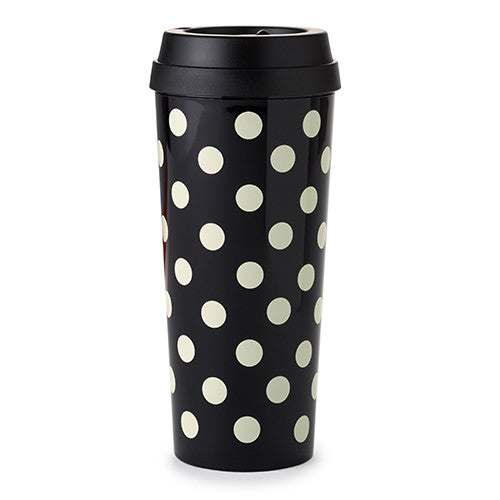 Black Dots Thermal Mug