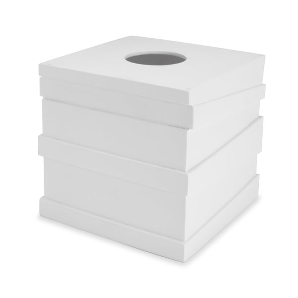 White Tissue Holder
