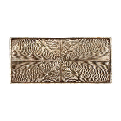 Decorative Embossed Aluminum Tray, Home Accessories, Laura of Pembroke