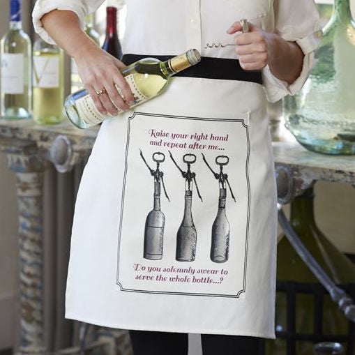 Wine Apron, Gifts, Mud Pie, Laura of Pembroke