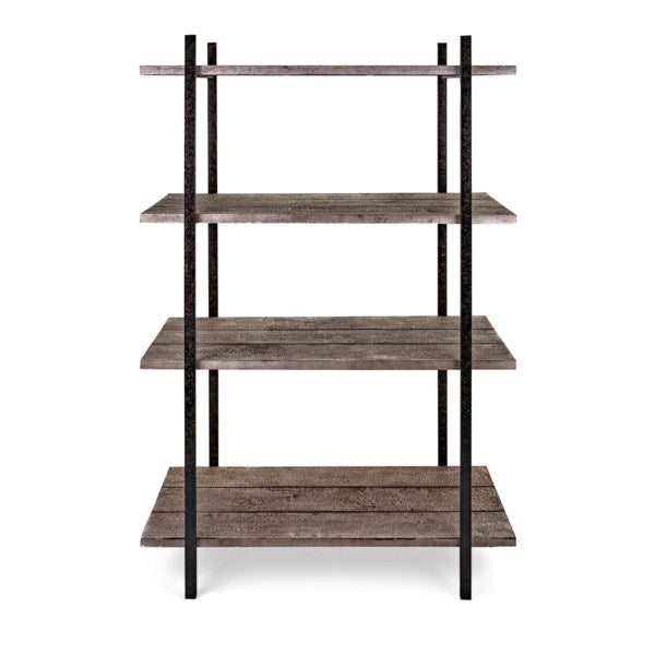 Wood and Iron Display Shelf, Home Furnishings, Laura of Pembroke