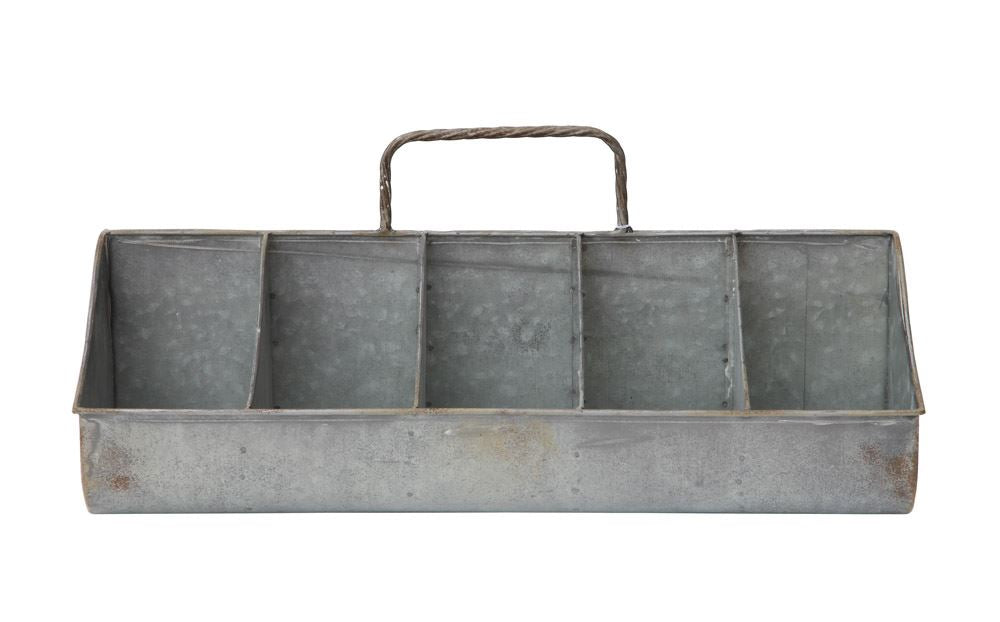 Zinc Caddy, Home Accessories, Laura of Pembroke