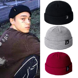 KStyle Men Knitted Retro Hat