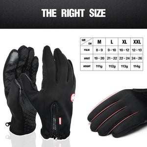 KStyles Men Winter Windproof Gloves Touchscreen for Smart Phone
