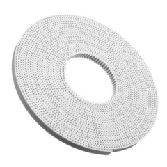 5 Meter 2GT-6mm White Polyurethane Timing Belt For 3D Printer Accessories
