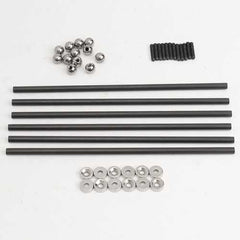 200MM 4x6 MM Diagonal Push Rod L200 With Magnetic Ball Joint And Steel Ball For Kossel 3D Printer