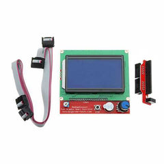 3D Printer Mainboard Kit RAMPS 1.4 +  Mega 2560 + DRV8825 + 12864LCD + PCB Heat Bed MK2B